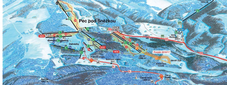 Trail Map Pec pod Snezkou