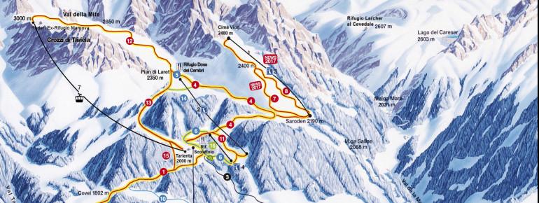 Trail Map Pejo 3000