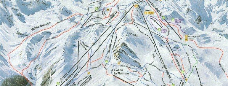 Trail Map Peyragudes