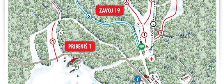 Trail Map Platak