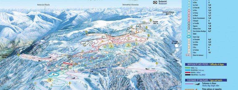Trail Map Plateau de Beille