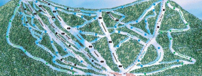 Trail Map Plattekill Mountain