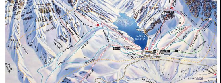 Trail Map Portillo
