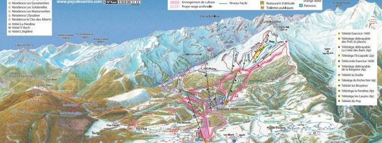 Trail Map Puy St Vincent