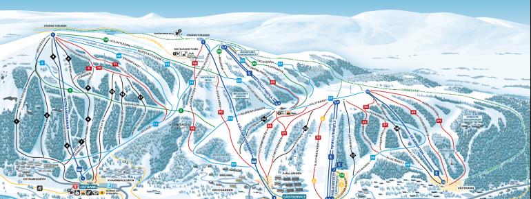 Trail Map Ramundberget