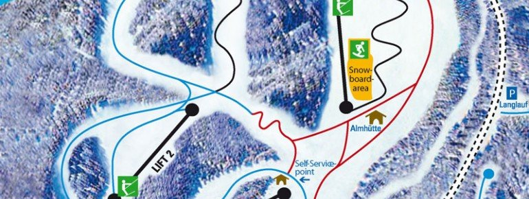 Trail Map Ravensberg Bad Sachsa