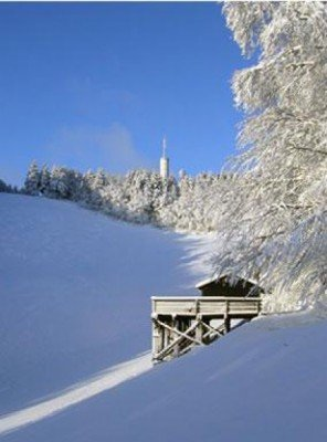 The biggest snow guarantee in the Ravensberg ski area is in January.