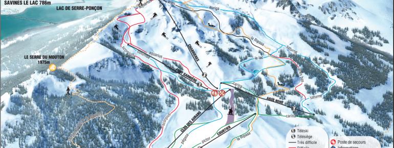 Trail Map Reallon