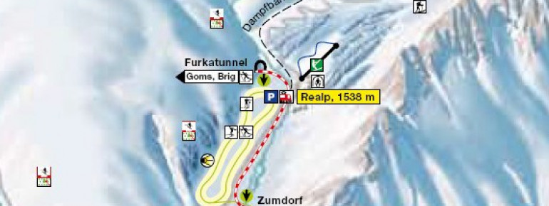 Trail Map Realp