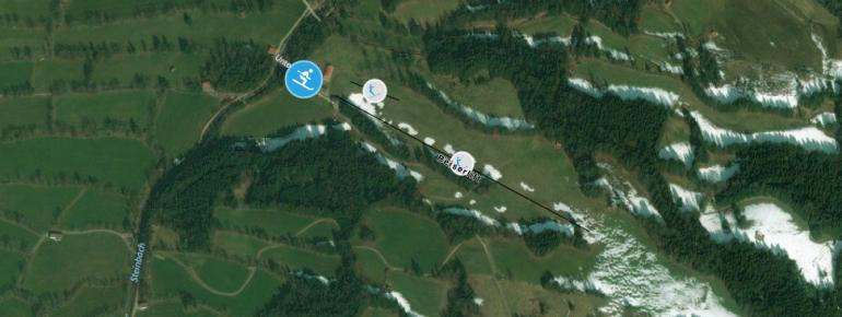 Trail Map Reiserhang - Gaissach