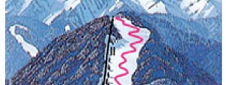 Trail Map Rofanlifte Steinberg