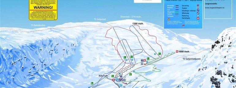 Trail Map Roldal