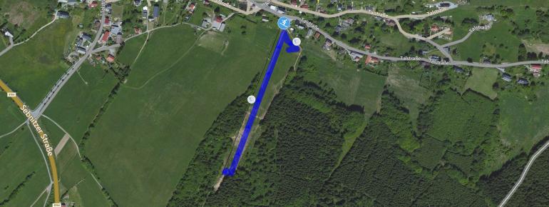 Trail Map Rugiswalde
