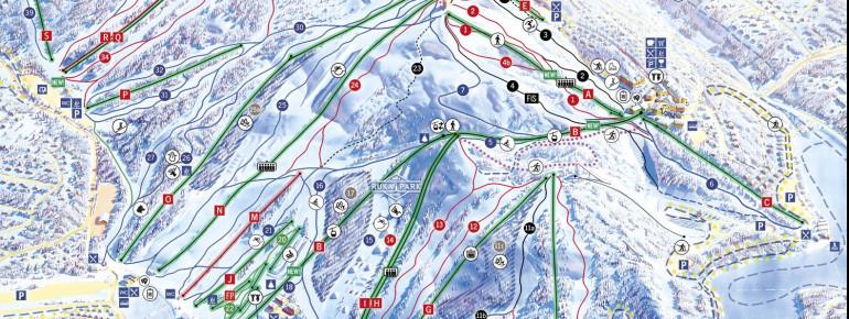 Trail Map Ruka