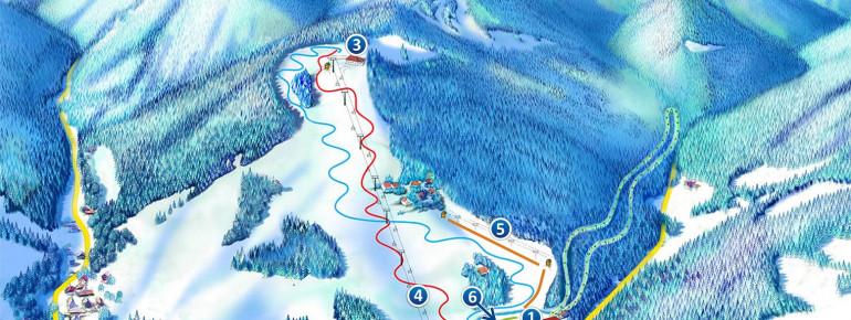 Trail Map Rytro Ryterski Raj