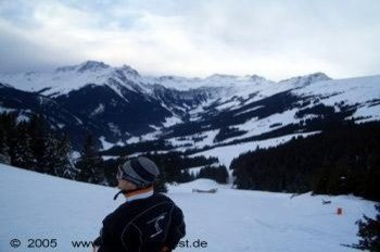 Stunning mountain landscapes of the Glemmtal valley