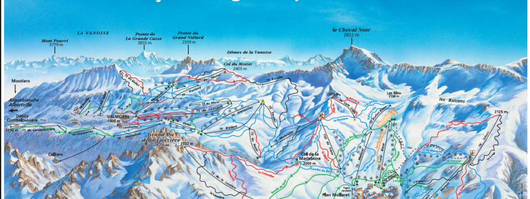 Trail Map Saint Francois Longchamp