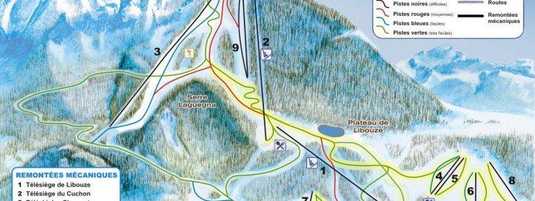 Trail Map Saint Leger les Melezes