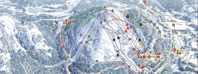 Trail Map Salla