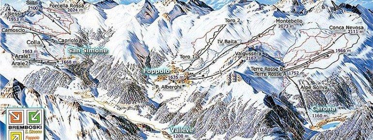 Trail Map San Simone
