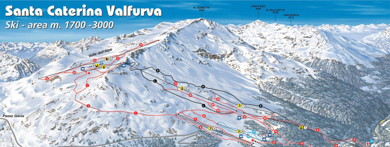 Ski Virginia Map.Santa Caterina Valfurva Ski Holiday Reviews Skiing