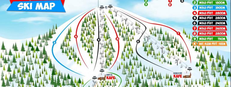 Trail Map Sarikamis