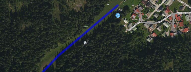 Trail Map Schönau am Königssee Grünsteinlift