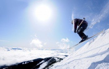 Maybe you'll even get a perfect sunny ski day.