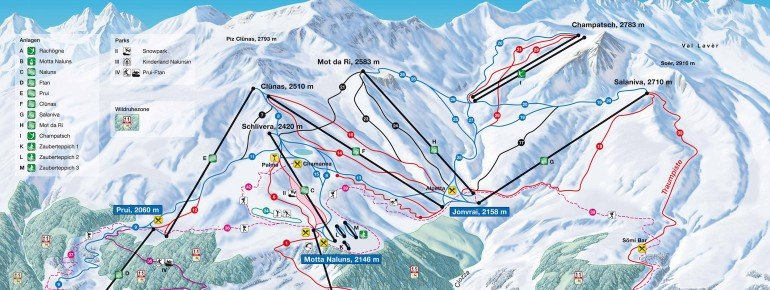 Trail Map Scuol