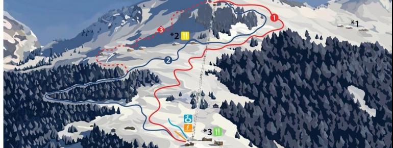 Trail Map Seilbahnen Sonntag