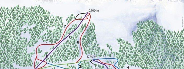 Trail Map Serre Eyraud