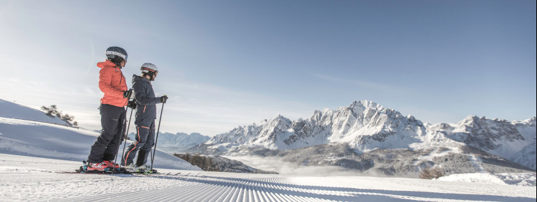 You will find more than 100 kilometres of slopes at 3 Zinnen.