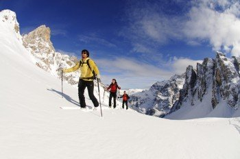 Guided ski tours are also available.