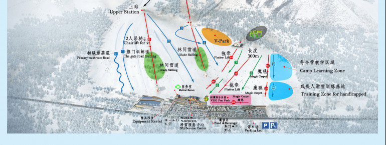 Trail Map Shijinglong