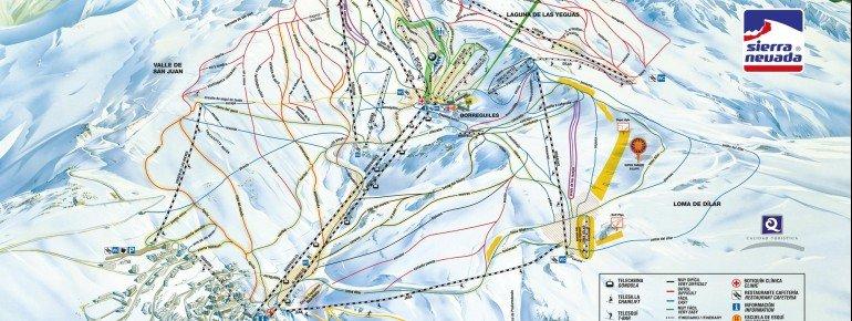 Trail Map Sierra Nevada