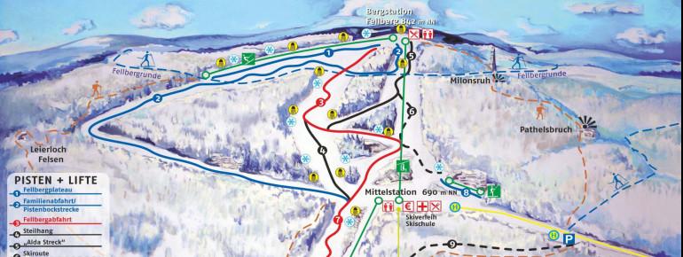 Trail Map Silbersattel Steinach