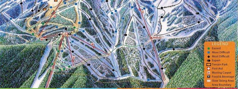 Trail Map Silver Mountain Resort