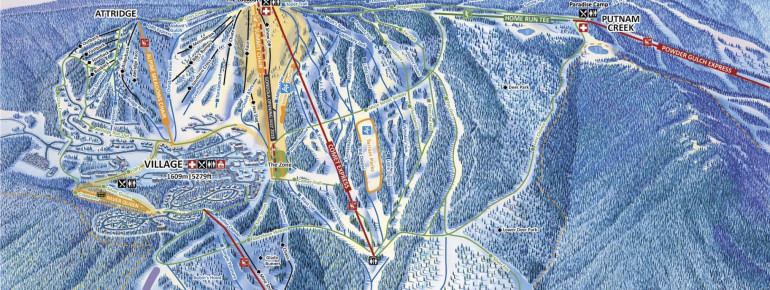 Trail Map Silver Star Mountain Resort