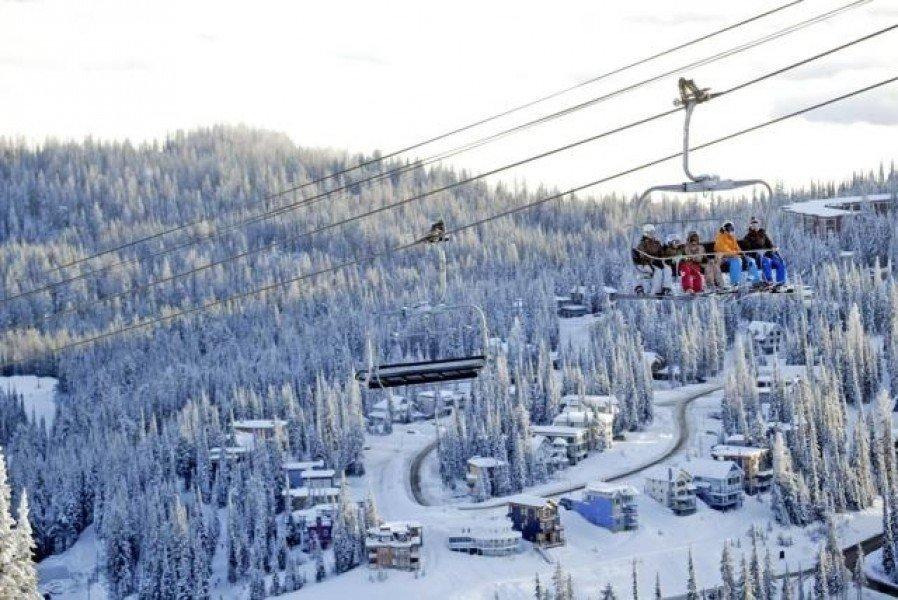 Ski resort silver star mountain resort ski holiday for Silver mountain cabins