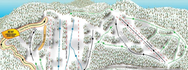 Trail Map Sir Sams Ski Area