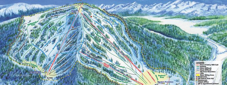 Trail Map Ski Cooper