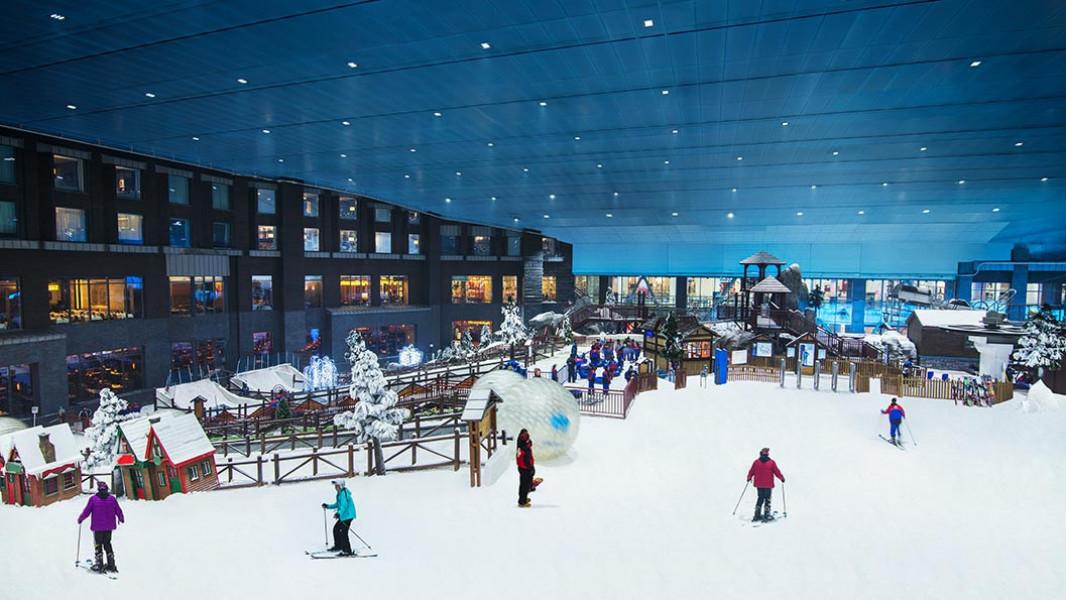 Ski Dubai (Mall of the Emirates) Trail Map • Piste Map • Panoramic ...