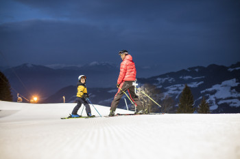 Nightskiing at the Reitherkogel