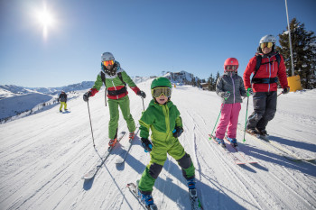 Families love the Ski Juwel for its wide slopes and the good price-value ratio.