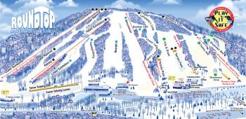 Trail Map Roundtop Mountain Resort
