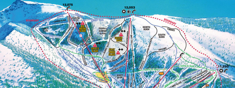 Trail Map Ski Santa Fe Resort