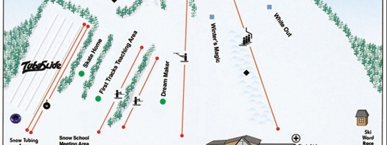 Trail Map Ski Ward