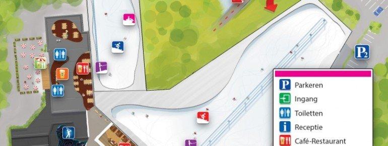 Trail Map SnowWorld Rucphen