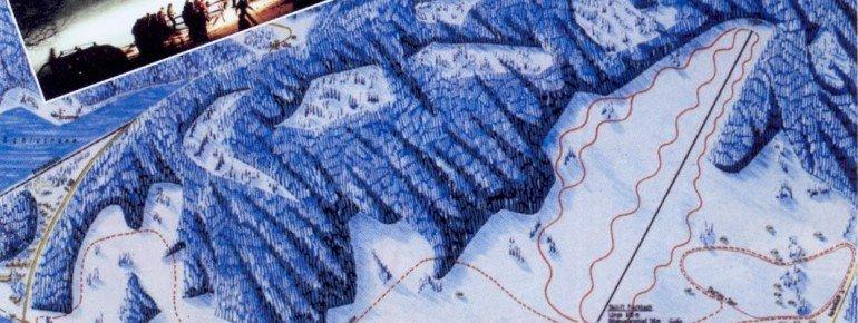 Trail Map Skilift Fischbach