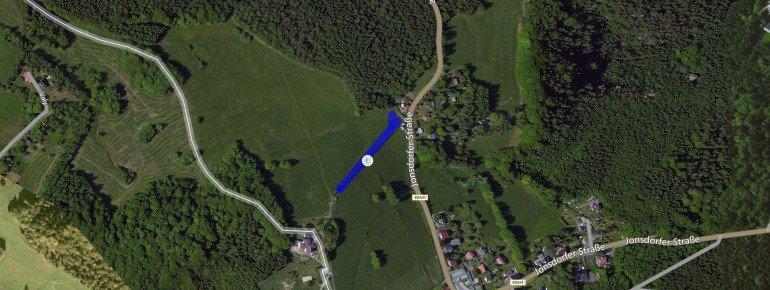 Trail Map Skilift Oybin Hain